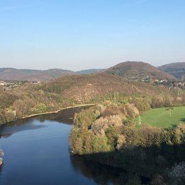 Staubecken Heimbach